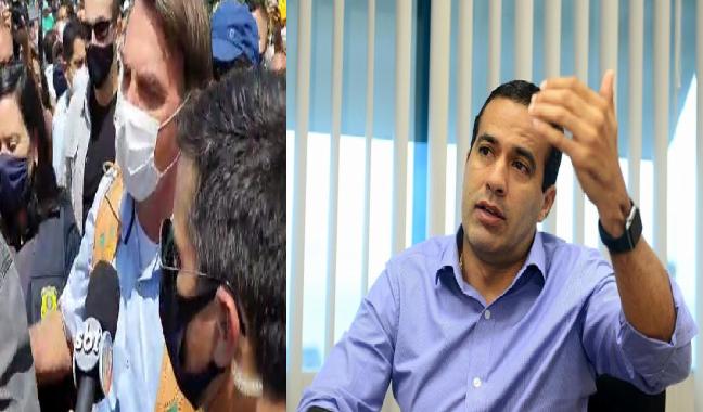 """Prefeito de Salvador, Bruno Reis, critica Bolsonaro por ter ofendido jornalista baiana """"Isso é lamentável! """""""
