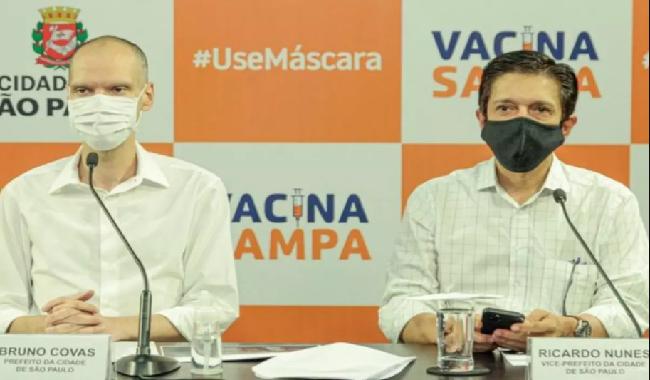 """""""A melhor homenagem a Bruno Covas é não parar de trabalhar"""" diz o prefeito em exercício, Ricado Nunes"""